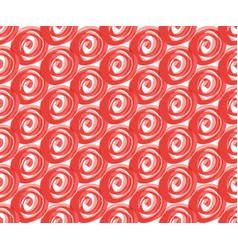 abstract seamless pattern pink and red vector image