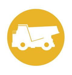 big dump truck vector image