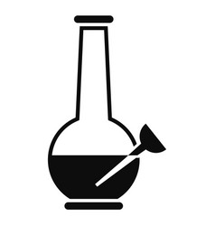 Bulbulyator icon simple style vector