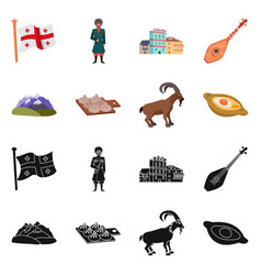 Design of culture and sightseeing icon vector