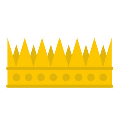Regal crown icon isolated vector