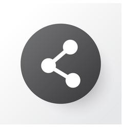 Share icon symbol premium quality isolated vector