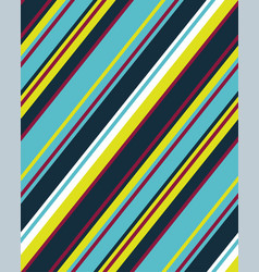 Sloping lines colored vector
