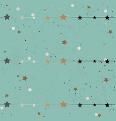 subtle winter pattern vector image