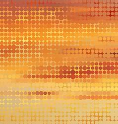Sundown themed background with circular grid vector