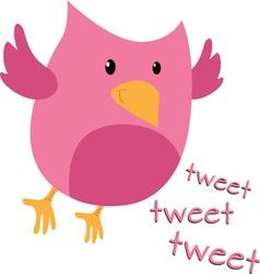 Tweet Bird vector