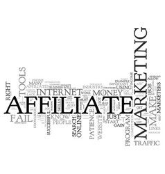 Why most affiliate marketers fail to make money vector