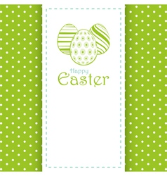 Easter panel background vector image vector image