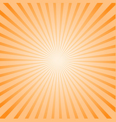 art sunny striped background vector image vector image