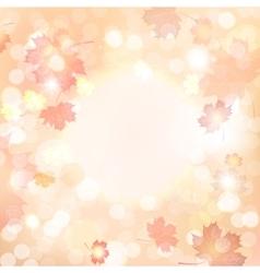 Autumn blurred background vector