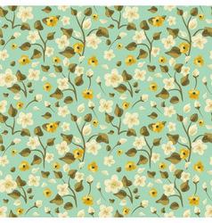 Flora seamless pattern vector