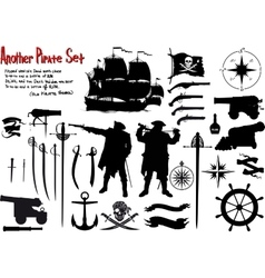 Another Big Pirate Set vector
