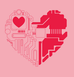 Circuit heart vector
