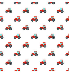 farm tractor icon flat style vector image