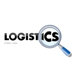 Logistics logo vector