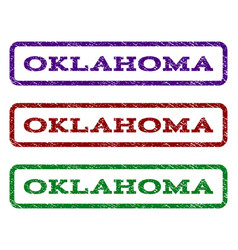 Oklahoma watermark stamp vector