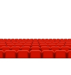 Rows of Cinema vector image