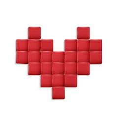 3d Heart vector image