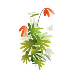 A plant vector image vector image