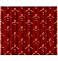 lily symbol vector image