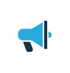 announcement colorful icon symbol premium quality vector image