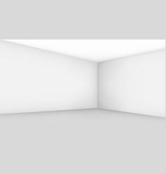 empty room template vector image