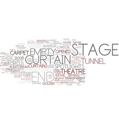 End-stage word cloud concept vector