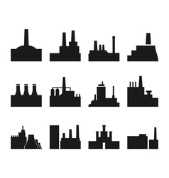 Factory icon2 vector image