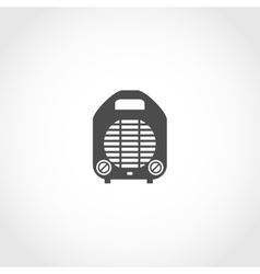 Heater icon vector image vector image