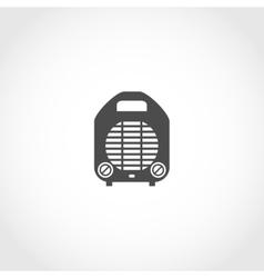 Heater icon vector image