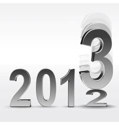 New year 2013 background vector image