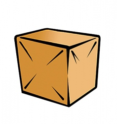 packing box vector image