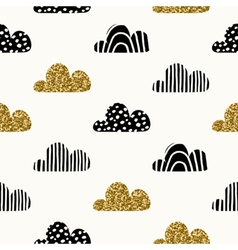 Seamless Clouds Pattern vector
