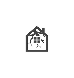 tree house logo icon graphic template vector image