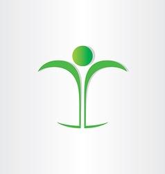 healthy man body health icon vector image