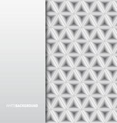 White Minimalistic Background vector image vector image
