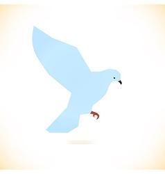 Abstract bird design vector image