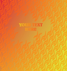 Abstract repeated pattern with place for your text vector
