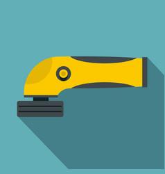 grinder machine icon flat style vector image