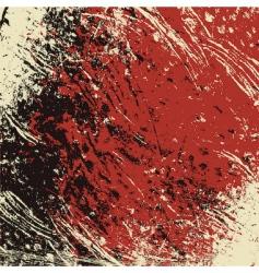 grunge textured background vector image