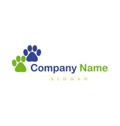 paws logotype vector image
