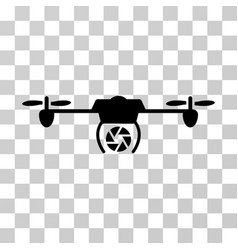 Shutter spy airdrone icon vector