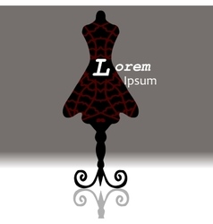 Very high qualiity original Mannequin drawn in vector