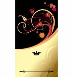 gold classic background vector image vector image