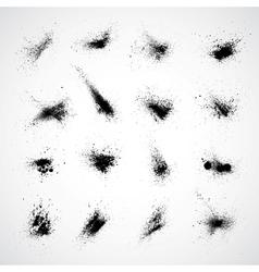 Ink Splat Set vector image vector image