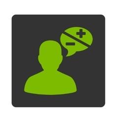 Arguments icon vector image