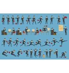 Business process infographics Brainstorm big vector image