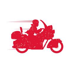 Custom vintage motorcycle vector