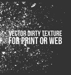dirty overlay texture for print or web vector image