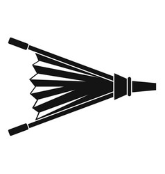 Fire bellows icon simple vector